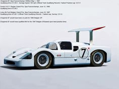 "How fast was the 1967 Chaparral 2F? Competitive with F1 at Spa. It was several years before a Porsche 917K beat its fastest lap time. FIA once again conspired to keep the Americans from dominating what they felt was ""their"" sport, and banned engines over 5.0 liters for 1968. They also banned Chaparral's wing installation. In 1964, the FIA cancelled the last race of the GT series to prevent Americans from winning the championship, handing it to Ferrari."
