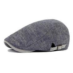 High-quality Vintage Men's Cotton Beret Cap Casual Newsboy Hats - NewChic Mobile.