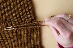 Grafting 2x2 ribbing