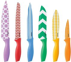 Love This 14 Piece Colored Knife Set On Zulily