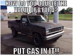 Sorry to bash first again but that's funny. Truck Memes, Truck Quotes, Car Memes, Truck Humor, Chevy Memes, Ford Humor, Ford Jokes, Chevy Vs Ford, Chevrolet