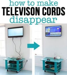 How to Hide Cords on a Wall Mounted TV