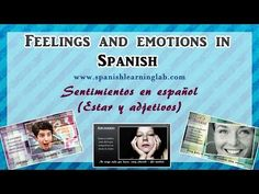 ▶ Expressing feelings & emotions in Spanish (examples + tips + audio) - YouTube