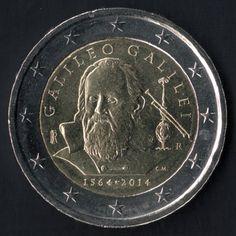 2 euro commemorativi italiani 2014