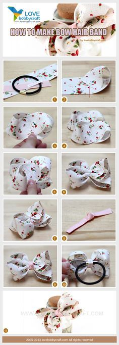 Diy Baby Headbands Ribbon Hair Bow Tutorial 16 Ideas For 2019 Making Hair Bows, Diy Hair Bows, Diy Bow, Diy Ribbon, Ribbon Hair, Ribbon Crafts, Ribbon Bows, Ribbons, Ribbon Flower