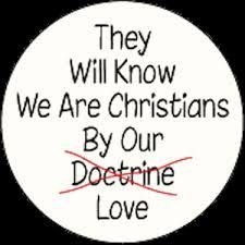 They will know we are Christians by our love. #cdff #love #christian