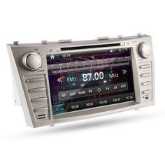 "Car DVD GPS Radio Navigation 8"" Player for Toyota Camry 2007 2008 2009 2010 2011 | eBay"