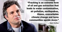 """Mark Ruffalo: There's No Fracking That Can Be Done Safely 