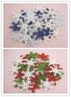 Cooperative 50pcs Christmas Holiday Wooden Collection Snowflakes Buttons Snowflakes Embellishments 18mm Creative Decoration Pretty And Colorful Apparel Sewing & Fabric