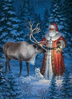 Santa/Father Christmas - By: Elizabeth Goodrich-Dillon                                                                                                                                                      More