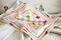 ABC quilt top by nanaCompany, via Flickr