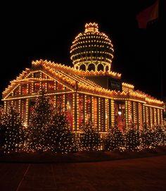 Santa's House, Inner Harbor, Baltimore, Maryland