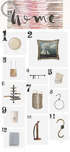 Christmas Gift Guide | HOME | The Society Inc by Sibella Court