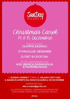 Nuovo bando // SunDay Market Christmas Carol #ellismabel #sundaymkt #christmascarol #milanocestchic #natale2013 #bianconatale #friendmusicandcharity
