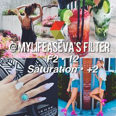 ↠ @mylifeaseva 's Filter! ↠ Looks Best With - Anything ↠ Theming - 9.5/10 It's…