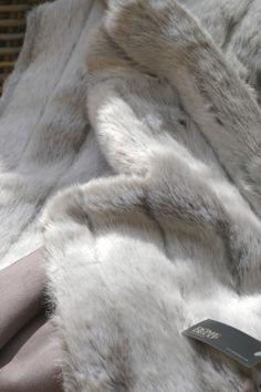 Plaid fausse fourrure FOX