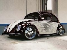 VW Beetle Classic -maybe the paint without the flames