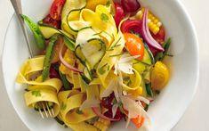 Farmers' Market Pappardelle: 2000s Recipes + Menus : gourmet.com
