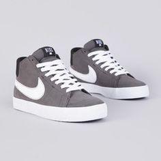 Nike Sb Blazer Mid LR Midnight Fog / White Black