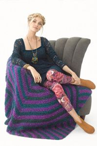 CrochetEclectic Collector Afghan