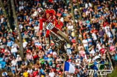 Spain's Jose Butron styles it up at MXoN