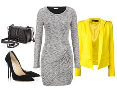 blazer amarillo look42