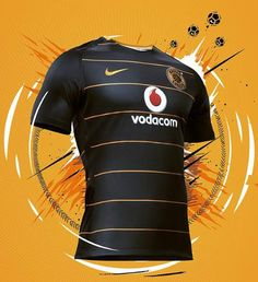The new Kaizer Chiefs jerseys introduce modern designs in the club's famous colors. Football Shirt Designs, Football Kits, Nike Football, Football Jerseys, Rugby Jersey Design, Jersey Designs, Kaizer Chiefs, Sports Graphic Design, Home And Away
