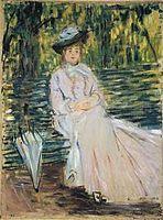 Mulher sentada num banco – Wikipédia, a enciclopédia livre