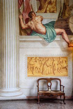 Giovanni Battista Zelotti : Affreschi di Villa Emo - Treviso, Italia / Andrea Palladio