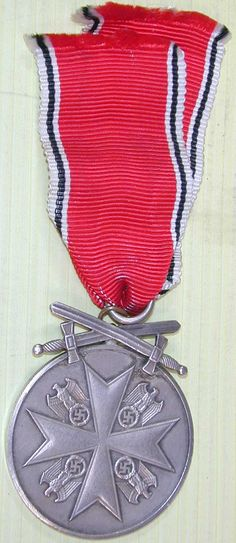World War II Order of the German Eagle with Swords With Ribbon.