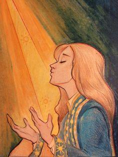 Sankta Alina - The Sun Summoner by clzwart on Tumblr