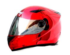 Masei Red Chrome 830 Full Face Motorcycle Helmet Free Shipping for Kawasaki & Harley Davidson Bikers
