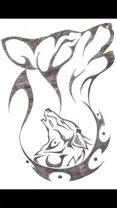 #easy Drawings Wolf | Kawaii Zeichnungen, Einfache Wolf Drawing Easy, Dog Drawing Simple, Anime Wolf Drawing, Cool Pencil Drawings, Art Drawings Sketches, Cool Wolf Drawings, Cool Easy Drawings, Easy People Drawings, Drawing People