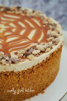 Curly Girl Kitchen: Caramel Apple Cheesecake