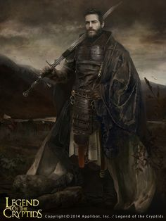 Blood Edge, legendary swordsman I by EVentrue