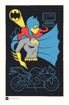 Batgirl by Luke Daab