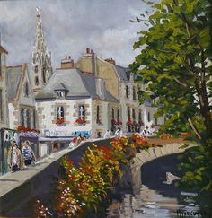 Pont-Aven -  LA BRETAGNE VUE PAR MICHEL MARGUERAY