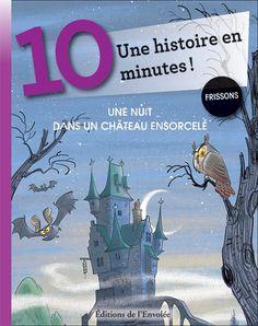 Une nuit dans un château ensorcelé - Éditions de l'Envolée