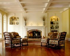 Traditional Living Room Fireplace Mantel Design, Pictures, Remodel, Decor and Ideas - page 419