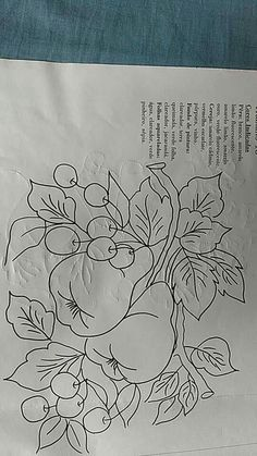 32 Trendy design to draw patterns on wood Fruit Painting, One Stroke Painting, Fabric Painting, Silk Ribbon Embroidery, Embroidery Patterns, Vegetable Drawing, Crochet Box, Crafts For Seniors, Vintage Typography