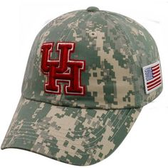 Top of the World Men's University of Houston Flagship Digi Camo Cap (, Size One Size) - NCAA Licensed Product, NCAA Men's Caps at Academy Sports