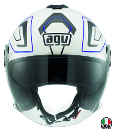 AGV Fiberlight - Future White/Grey/Blue
