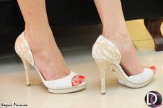 Peep toes com o reconhecido toque handmade #Guilhermina