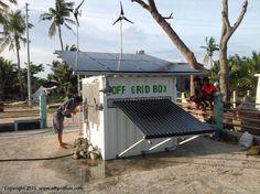 Off Grid Box in Philipphines - La Fabbrica del Sole + Oxfam Italia