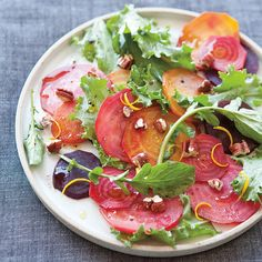 Roasted Beet and Curly Endive Salad with Balsamic Vinaigrette | Williams-Sonoma