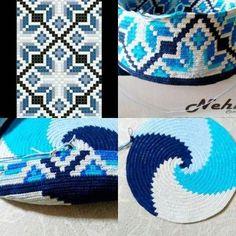 Crochet bag base yarns new Ideas Crochet Diy, Learn To Crochet, Crochet Crafts, Yarn Crafts, Crochet Projects, Tutorial Crochet, Tapestry Crochet Patterns, Crochet Stitches Patterns, Beading Patterns