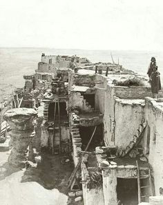 First Mesa Pueblo 1900 Arizona
