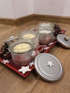 Tea Lights, Tray, Candles, Home Decor, Advent Season, Christmas, Decoration Home, Room Decor, Tea Light Candles