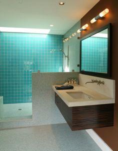 Floating sink cabinet designs for the bathroom