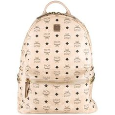 MCM studded large backpack